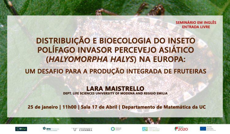 """Seminário  """"Distribuição e bioecologia do inseto invasor percevejo asiático"""""""
